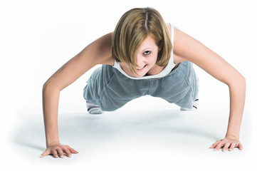 Young Woman - Working Out