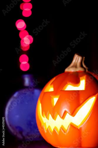 Jack-O'-Lantern with Halloween Potion