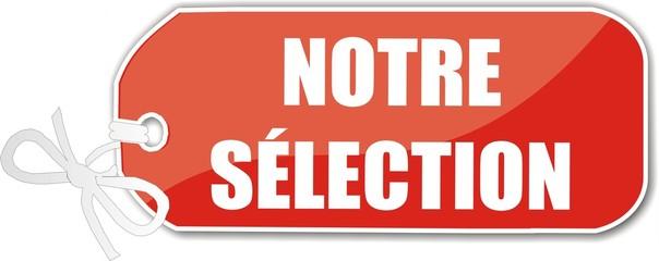 étiquette notre sélection