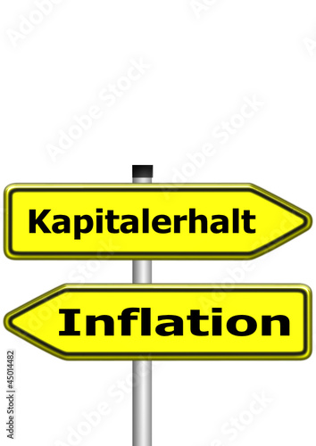 Kapitalerhalt vs. Inflation