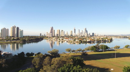 Gold Coast City, early morning 2