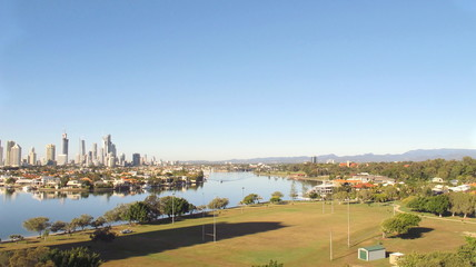 Gold Coast city, Nerang River and Hinterland