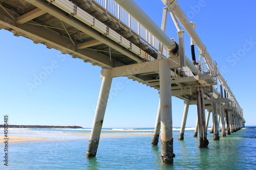 Sand Pumping Jetty Southport 7