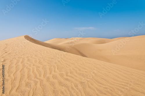 Canvas Woestijn Dünen Maspalomas 25