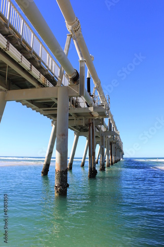 Sand Pumping Jetty Southport 4