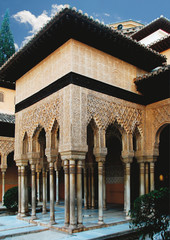 Löwenhof in der Alhambra/Spanien