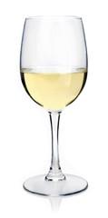 Weisswein im Glas