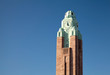 Clock tower of Helsinki central railway station