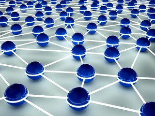 Conceptual image - the image of the network