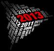 New Year 2013 Red/White/Black