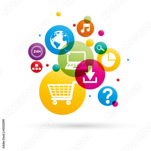 application/icône internet