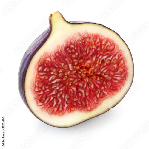 canvas print picture Half a Fig