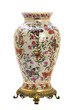 Antique porcelain jar in modern style.