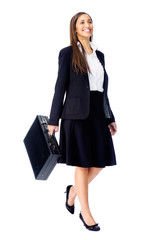 briefcase business woman