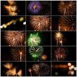 Set Of Fireworks