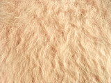 Texture of soft beige fleecy fabric (angora woolen cloth)