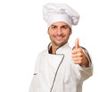 Portrait Of Chef Gesturing