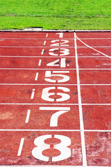 Track number 1-8