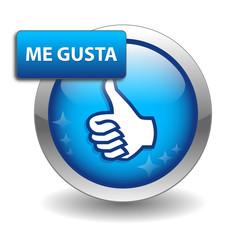 """Botón Web """"ME GUSTA"""" (opinión satisfacción votar compartir like)"""