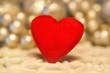 Weihnachtsdeko mit Herz