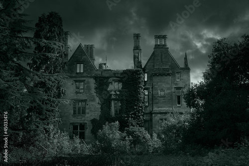 spooky old hall