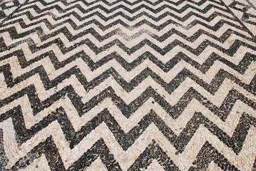 Pebble mosaic, Emborio, Halki island