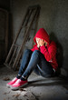 Teenager Depression Hochformat