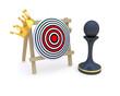 Pawn  crown target