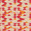 Colorful Seamless Abstract Wave Pattern
