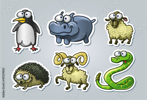 Cartoon animals