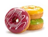 Fototapety baked doughnuts