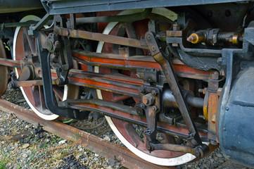 Vecchia locomotiva a vapore