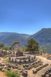 The tholos of the sanctuary of Athena Pronaia , Delphi,Greece