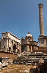 Ruins of the Roman Forum