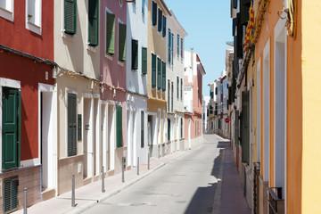 In den Gassen von Mao - Spanien - Menorca