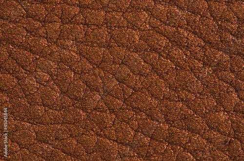 Staande foto Leder Natural brown leather