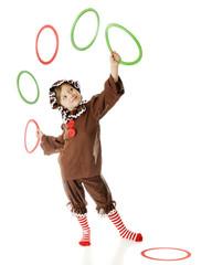 Jugling Gingerbread Girl