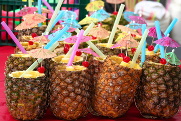 Pineapples for Pina Coladas
