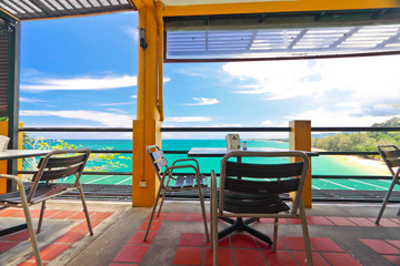 Restfulness with turquoise color of Andaman,Thailand