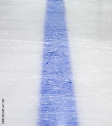 Hockey blue line