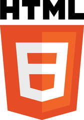 HTML 8 sign