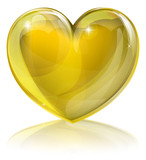 Fototapety Heart of gold