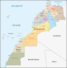Marokko, Administrativ