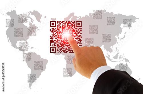QR-Code  Weltweit