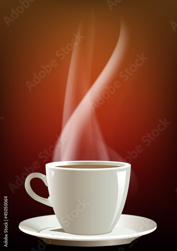 coffee smoke background