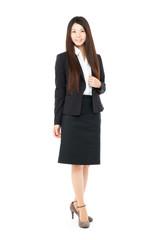 Beautiful business woman. Portrait of asian.