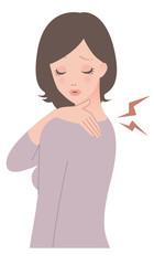 女性 / 肩こり / 症状
