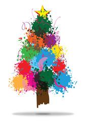 Splash Christmas Tree