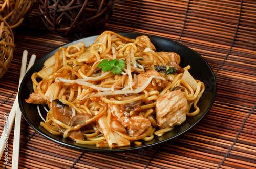 Plagát, Obraz Chicken chow mein