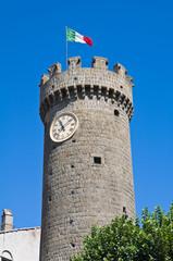 Tower of Bagnaia. Lazio. Italy.